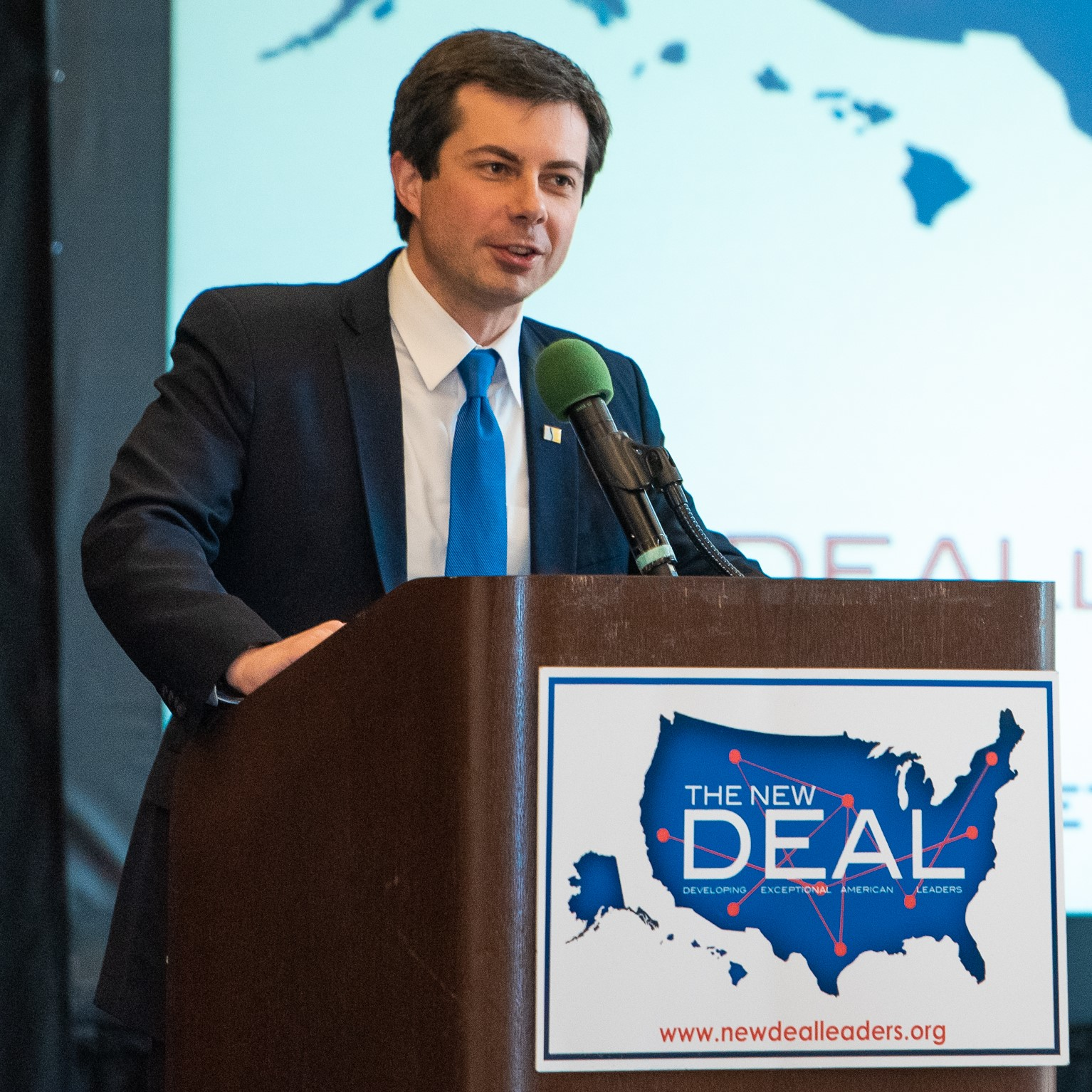 Mayor Pete Buttigieg at the 2018 conference